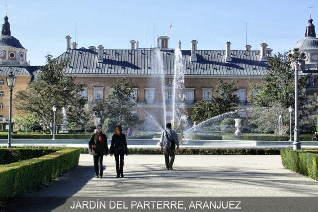 escapada en el jardín del parterre aranjuez