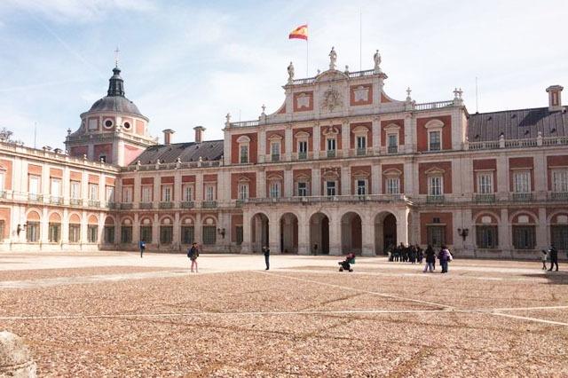 Aranjuez cerca de Madrid