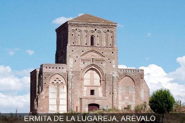 ermita de la lugareña del pueblo de Arévalo