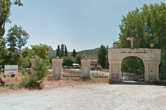 entrada Aguas de Carabaña