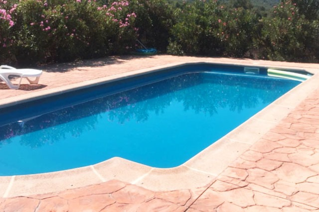 casa rural con piscina cerca de Madrid