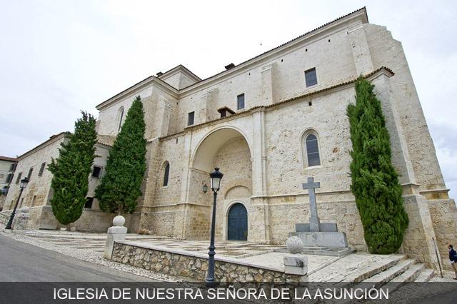 iglesia nra. sra. de la asunción chinchon cerca de madrid
