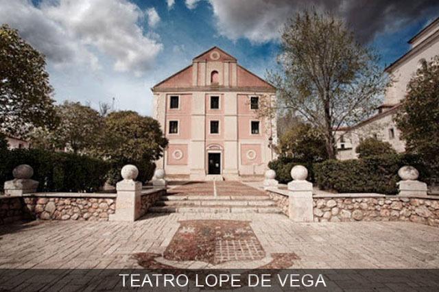 Teatro Lope de Vega de Chinchón cerca de Madrid