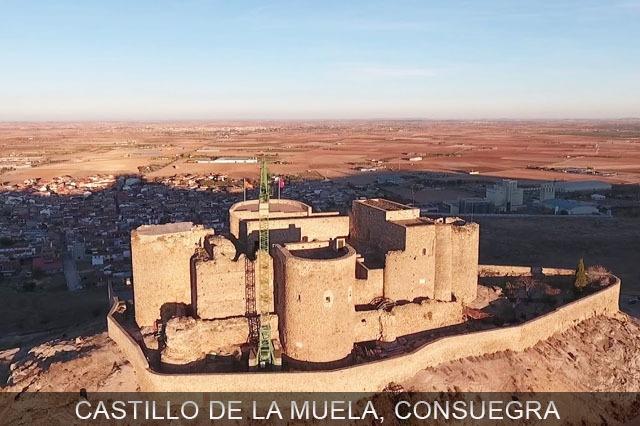 castillo del pueblo de Consuegra