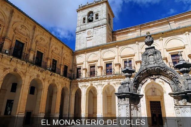 Interior El Monasterio de Uclés