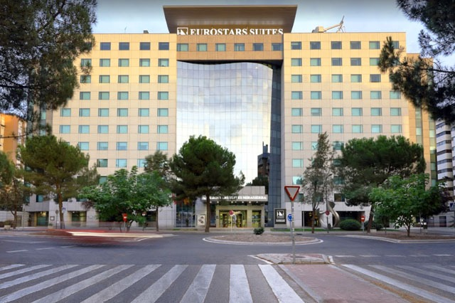 hotel Eurostar Suites Mirasierra cerca de Madrid