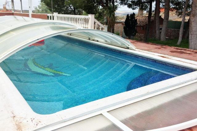 piscina en casas rurales cerca de Madrid