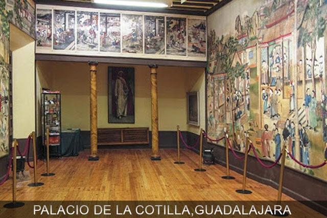 Palacio de la Cotilla cerca de Madrid