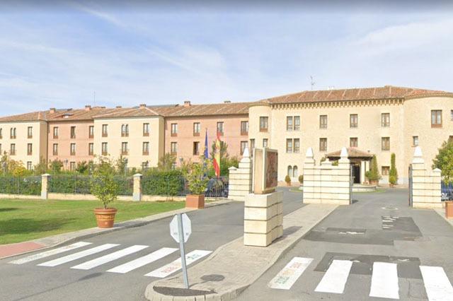 Fachada Hotel Cándido