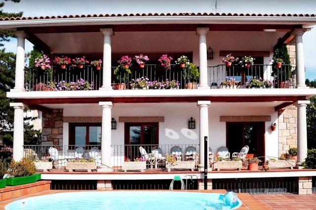 casas rurales con piscina cerca de Madrid