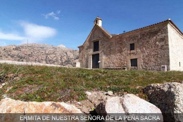 ermita de ntra. sra. de la peña sacra manzanares el real