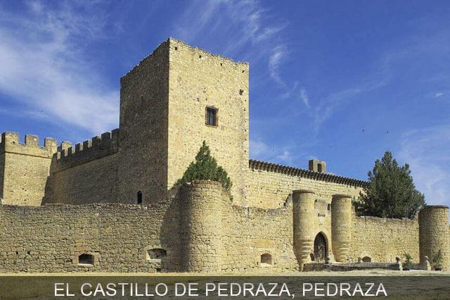 castillo del pueblo de Pedraza