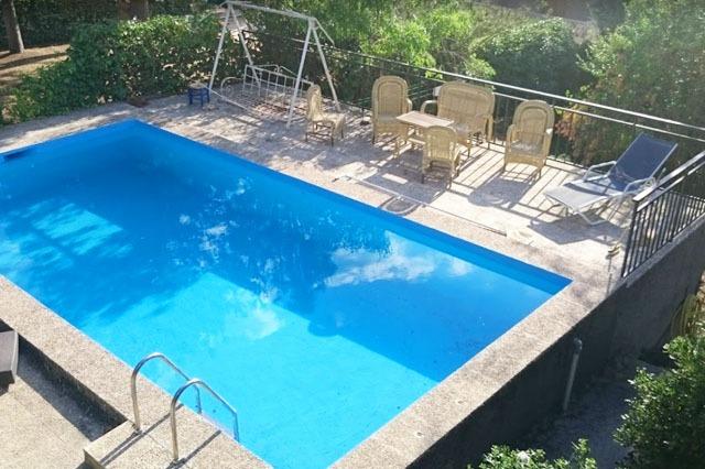 piscinas en casas rurales a pocos km de Madrid