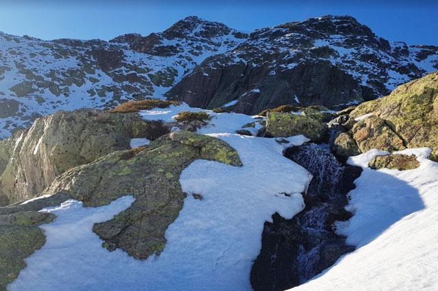Nieve en Risco de los Claveles