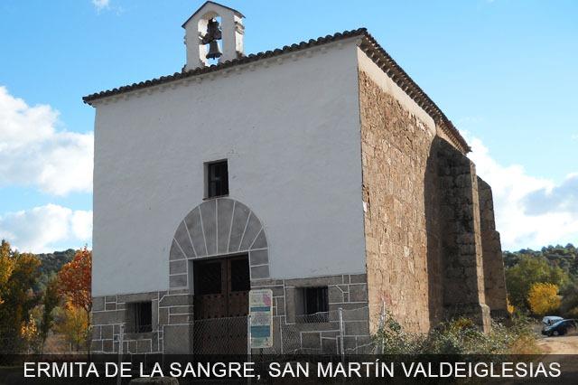 ermita de la sangre en S. Martin de Valdeiglesias