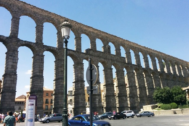Segovia ciudad cerca de Madrid