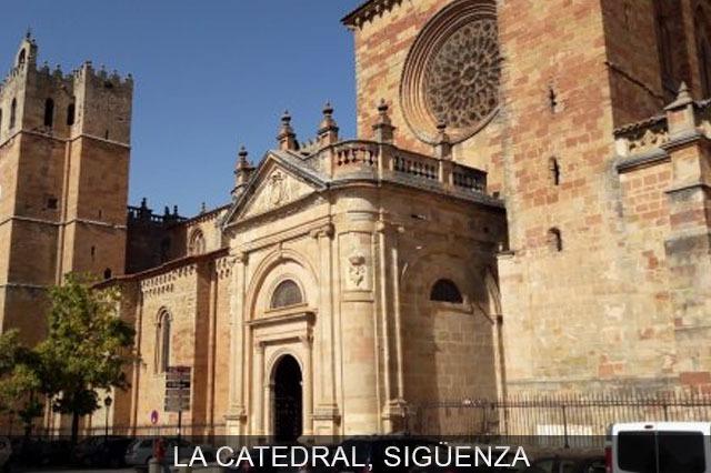 catedral del pueblo de Sigüenza