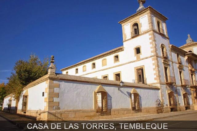 casas de las torres de Tembleque