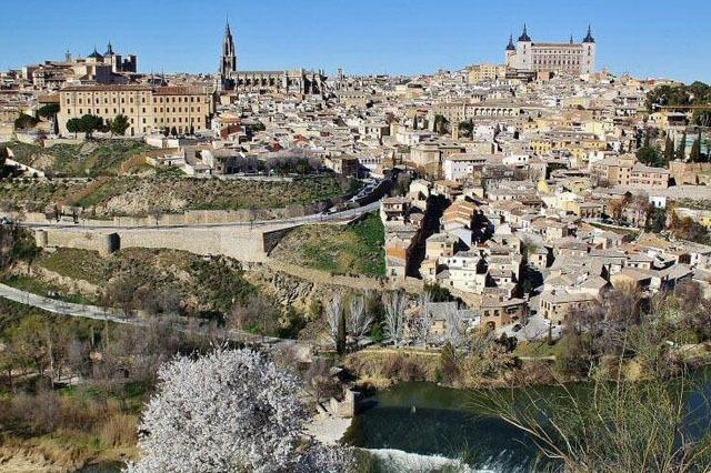 Toledo ciudad cerca de Madrid