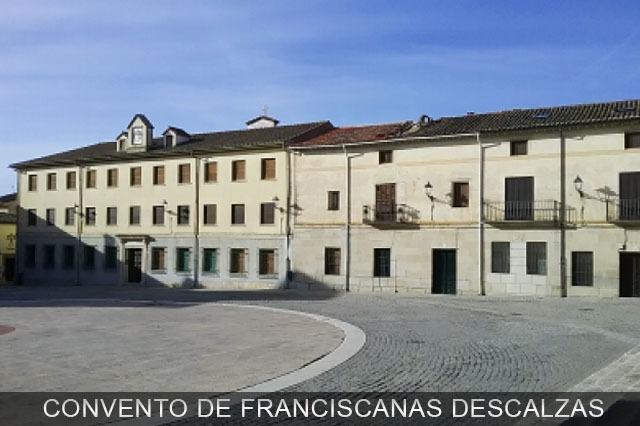 franciscanas descalzas en Torrelaguna Madrid