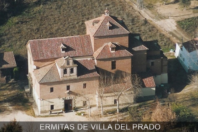 ermita de Villa del Prado cerca de Madrid