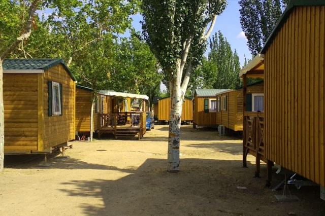 Camping El Escorial cerca de Madrid
