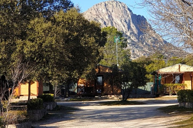 camping cercano a Madrid en la cabrera