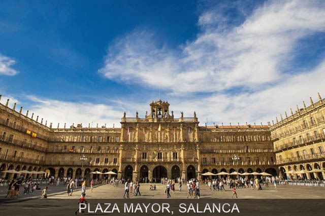 Plaza Mayor en Salamanca